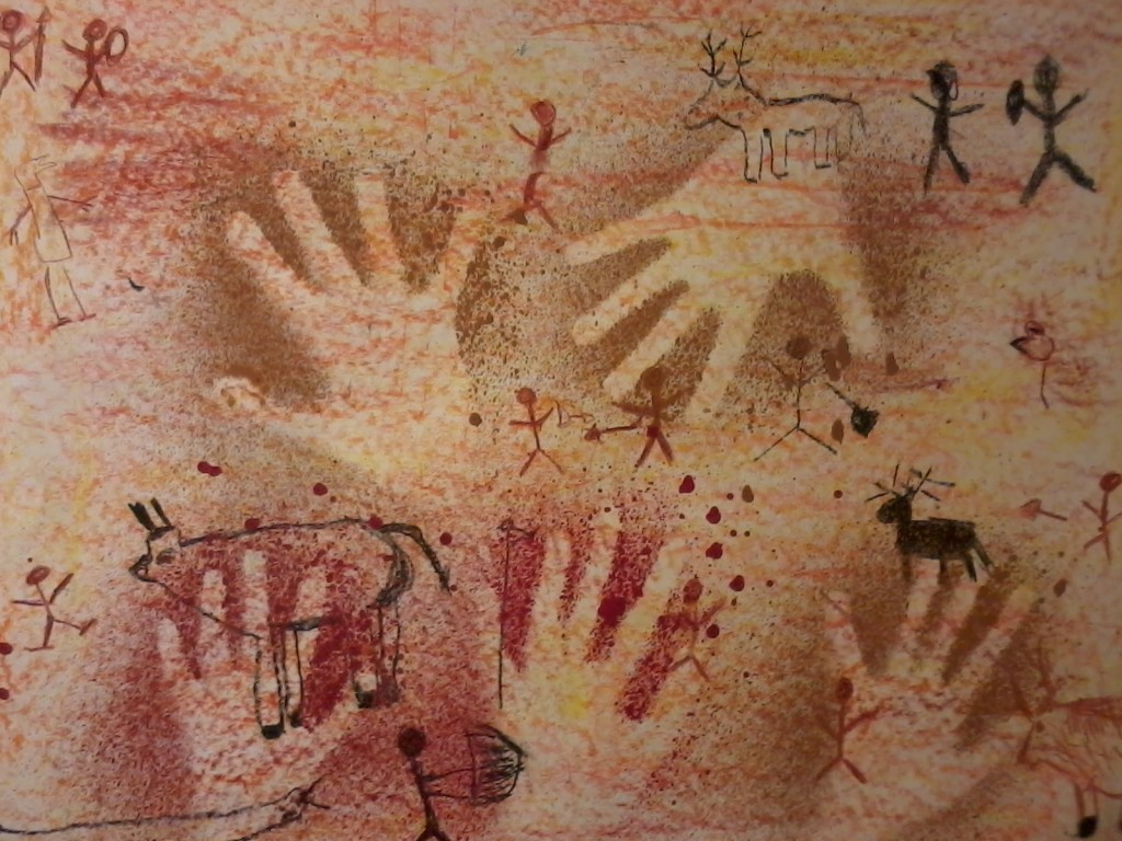 La peinture rupestre - Ecole Ste Julitte - St Cyr En Retz